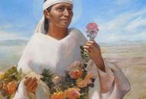 A Imagem de Guadalupe e o índio São João Diego
